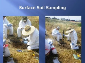 SSFL surface soil sampling