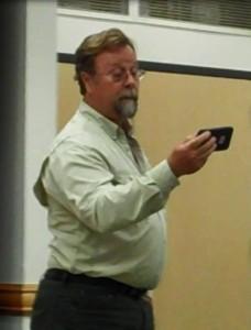 John Luker at Nov 5 2015 West Hills Neighborhood Council meeting