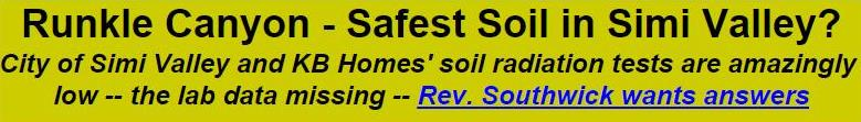 9-22-08 Runkle Canyon - Safest Soil in Simi Valley