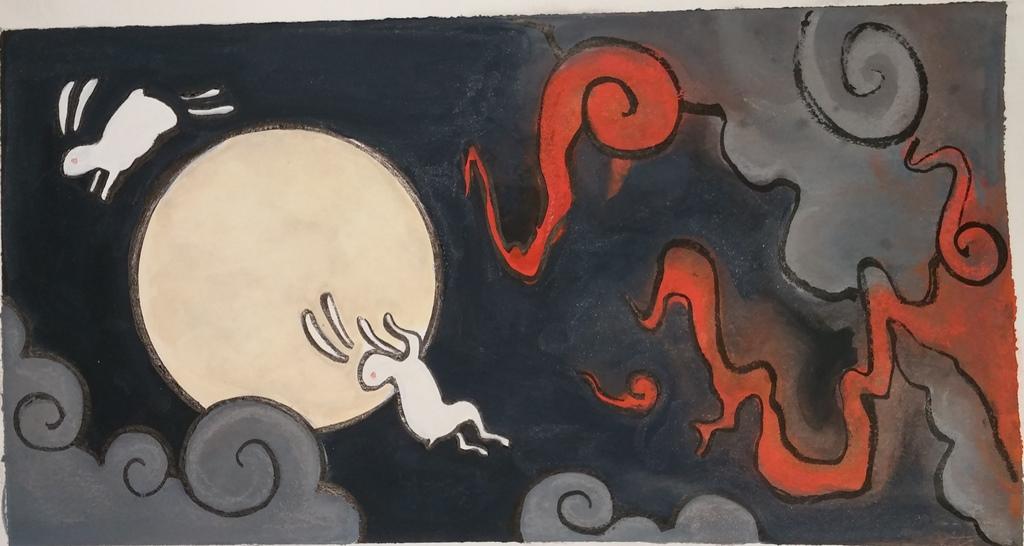 Rabbit Moon - Mina Ramicone