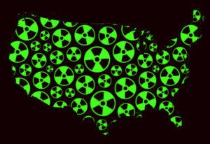 Sky high radiation readings