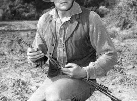 Actor James Arness as Marshall Matt Dillon in Gunsmoke circa 1956