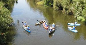 Kayaking in Rocketdyne River - LA River Reader Guide-City of LA