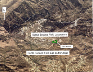 SSFL's Southern Buffer Zone drains most of nuclear Area IV