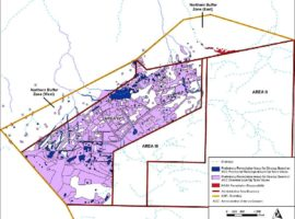 12-20-2016 DOE map of Area IV showing radiation and chemical contamination over nearly all the site