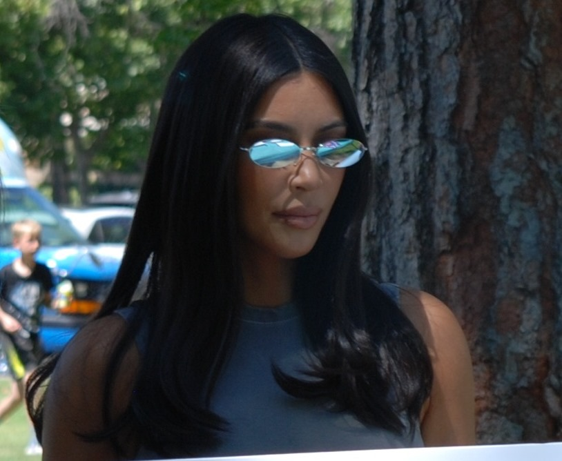 Kim Kardasian July 13, 2019 in Simi Valley - by William Preston Bowling