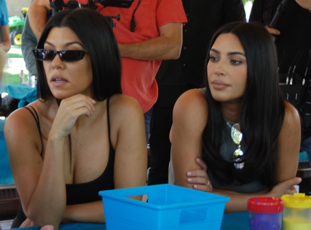 Kourtney and Kim Kardasian July 13, 2019 - by William Preston Bowling