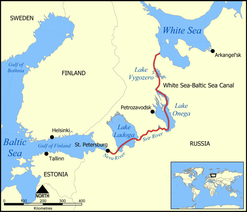 White Sea - Baltic Sea Canal
