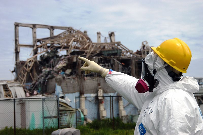 Fukushima's Unit 3 reactor in 2011 IAEA inspection